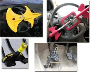 Механические средства защиты для автомобиля как выбрать?