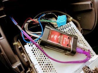 Конвертер для подключения сабвуфера к штатной магнитоле